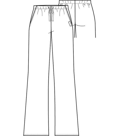 Cherokee Drawstring Pant 2222