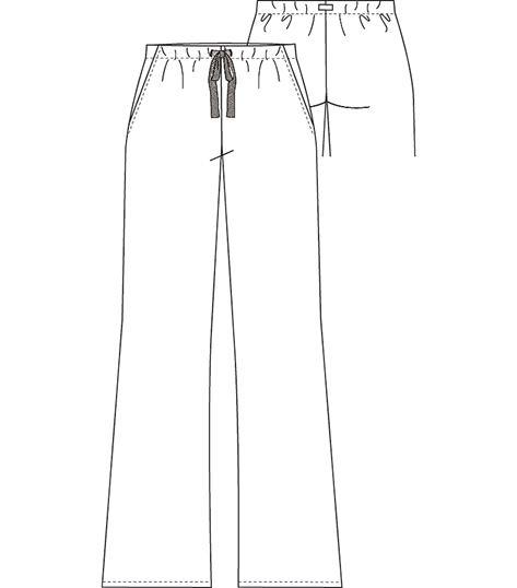 Cherokee Drawstring Pant 4023