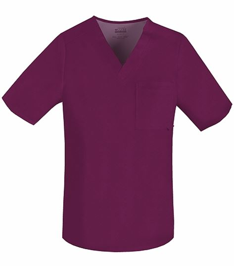 Cherokee Luxe Men's V-Neck Scrub Top-1929