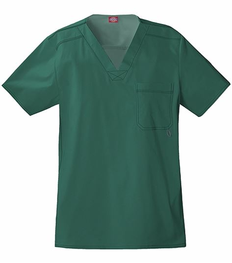 Dickies GenFlex Men's V-Neck Scrub Top-81722