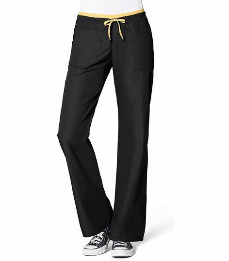 WonderWink Origins Women's Elastic Waist Drawstring Scrub Pants-5056