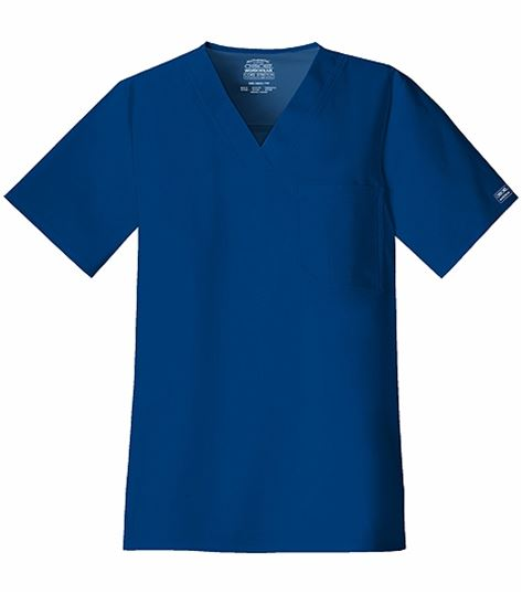 Cherokee WorkWear Core Stretch Men's V-Neck Scrub Top-4743
