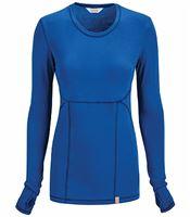 Code Happy Women's Long Sleeve Underscrub Knit Tee-46608A