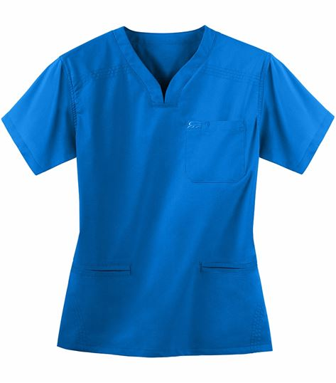 IguanaMed Women's Quattro Medflex II V-Neck Scrub Top-5600M