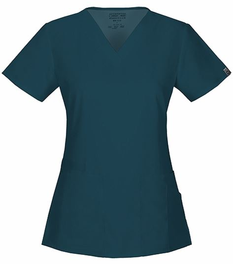 Cherokee Workwear V-neck Top 44700A