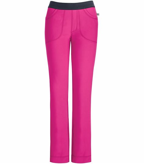 Cherokee Infinity Women's Slim Low-Rise Pull On Scrub Pants-1124A