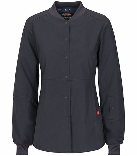 Dickies EDS Signature Snap Front Warm-up Jacket 85304A