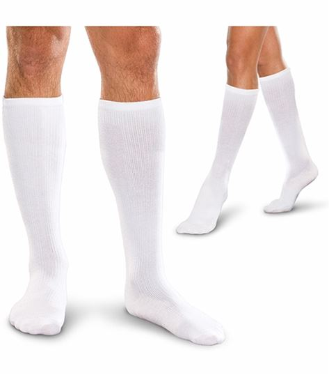 Cherokee Hosiery 20-30 Hg Cushioned Core Spun Knee Socks TFCS189