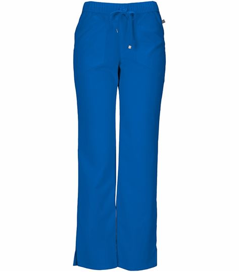 HeartSoul Women's Low-Rise Straight Leg Scrub Pants-20102A