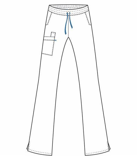 WorkFlow by Landau Women's Drawstring Cargo Scrub Pants-2022