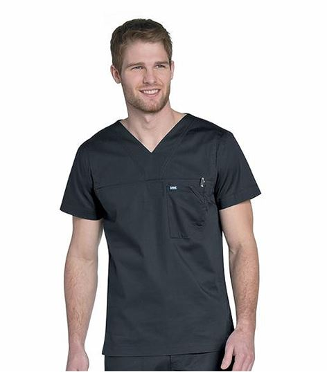 Landau MEN'S V NECK TOP 4127