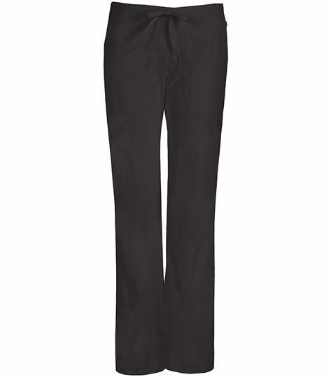 Code Happy Women's  Flare Leg Drawstring Scrub Pants 46002AB