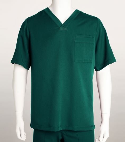 Grey's Anatomy Men's V-Neck Solid Scrub Top-0103