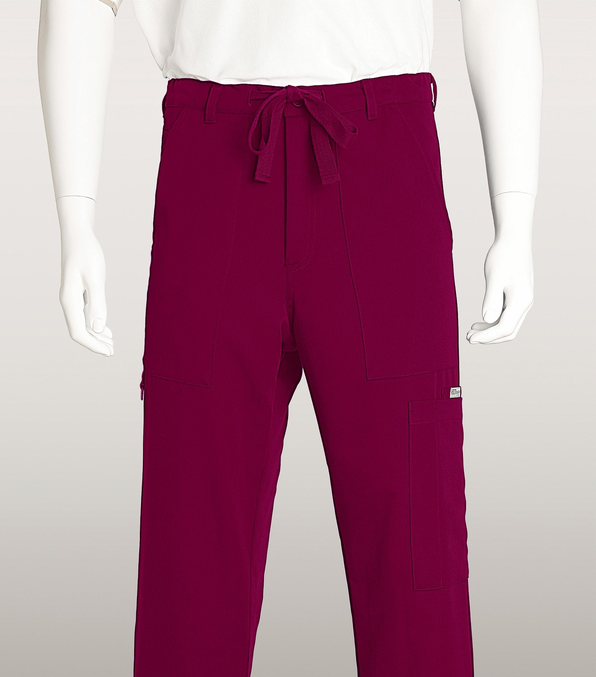 55bb99c46b9 Grey's Anatomy Men's Zip Fly Drawstring Utility Scrub Pants-0203 | Medical  Scrubs Collection