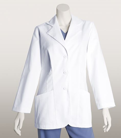 Lab Coats by Barco 30 Inch 2 Pocket 3 Button Lab Coat 1112