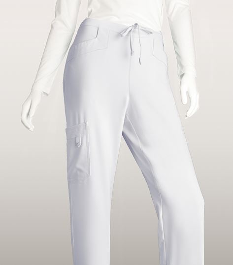 Grey's Anatomy Signature Women's Elastic Back Cargo Scrub Pants-2208