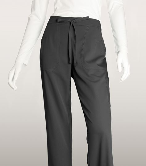 Grey's Anatomy 4 Pocket GA Logo Elastic Back Pant 4245