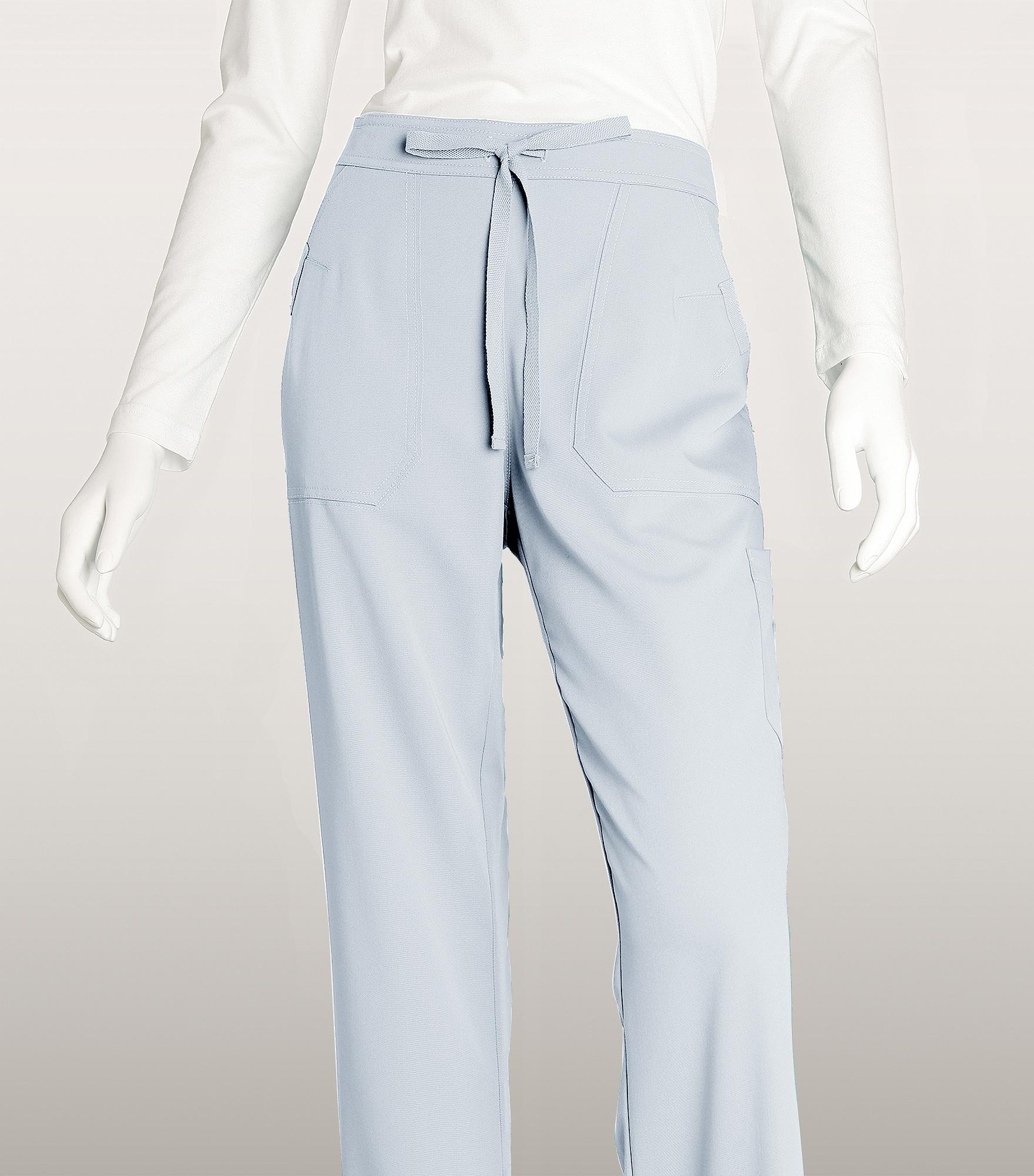 Grey/'s Anatomy Women/'s 4245 Drawstring Scrub Pant with Logo Elastic Back