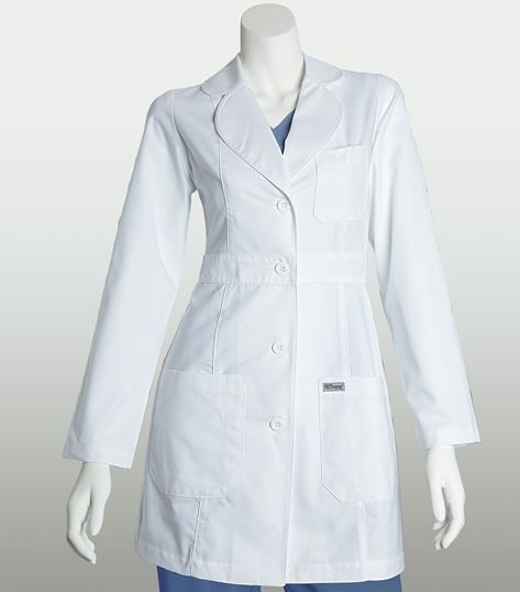 Grey's Anatomy 34 Inch 3 Pocket Lab Coat With Back Belt 4419