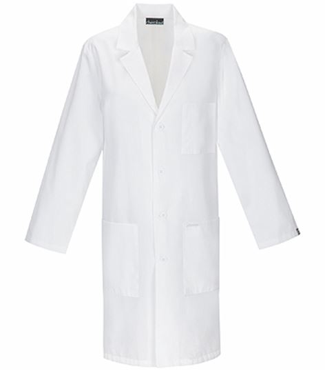 "Cherokee 40"" Unisex Antimicrobial Lab Coat-1346AB"