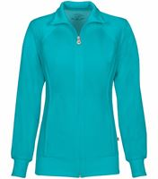 Cherokee Infinity Women's Zip Up Warm-Up Scrub Jacket-2391A