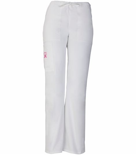 fe94934241f Cherokee WorkWear Stretch Mid Rise Drawstring Cargo Pant 4007 | Medical  Scrubs Collection