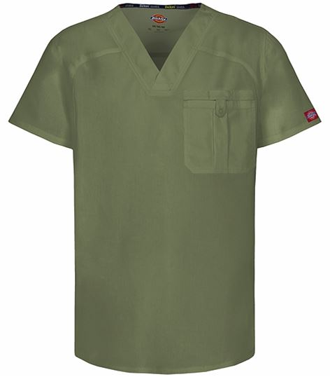 Dickies EDS Signature Stretch Men's V-Neck Scrub Top-81714A