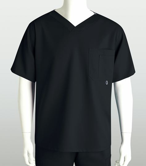 Grey's Anatomy Men's High V-Neck Scrub Top-0107