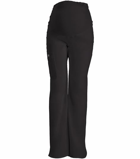 Cherokee WorkWear Stretch Maternity Knit Waist Pull On Pant 4208