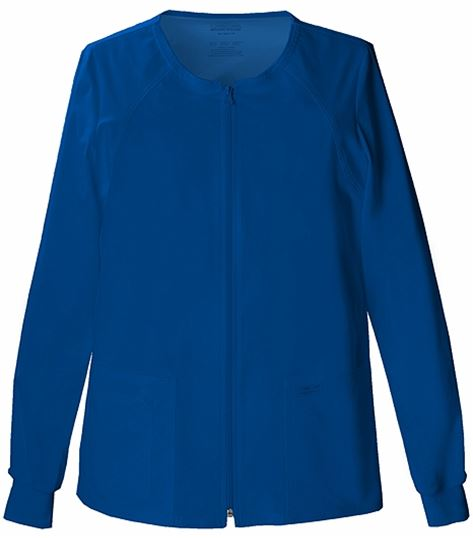 Cherokee WorkWear Stretch Zip Front Warm-up Jacket 4315