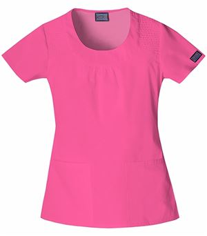 Cherokee WorkWear Round Neck Top 4761