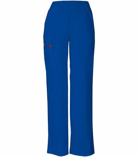 Dickies EDS Signature Women's Elastic Waist Cargo Scrub Pants-86106