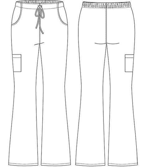 Cherokee Drawstring Cargo Pant CK000