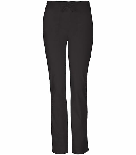 Cherokee WorkWear Stretch Mid-rise Slim Drawstring Pant 4203