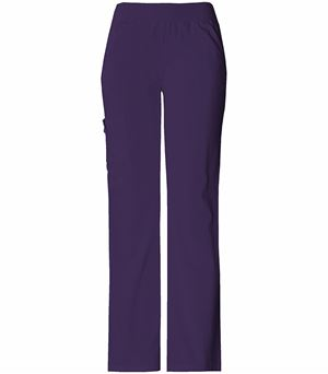 Cherokee Flexibles Mid Rise Knit Waist Pull On Pant 2085