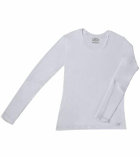 Cherokee WorkWear Women's Long Sleeve Underscrub Knit Tee-4975