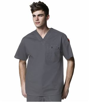 WonderWink WonderFLEX Men's Utility Scrub Top-6618