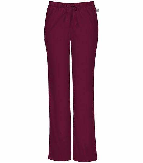 Cherokee Workwear Women's Elastic Drawstring Scrub Pants-44101A
