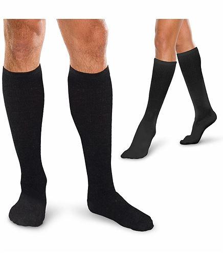 Cherokee Hosiery 20-30 Hg Cushioned Core Spun Knee Socks TFCS189