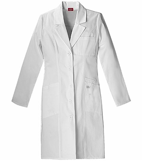 """Dickies Everyday Scrubs 37"""" Lab Coat 82401"""