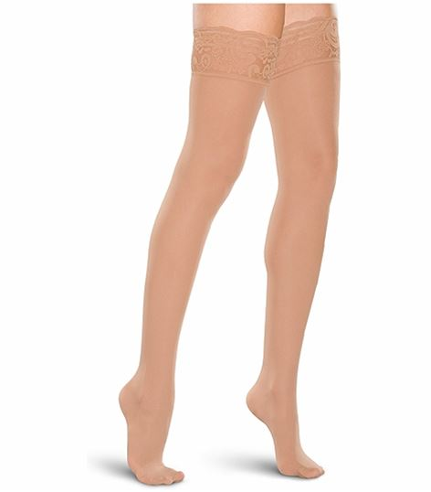 Cherokee Hosiery 15-20 Hg Lace Top Thigh Highs TF684