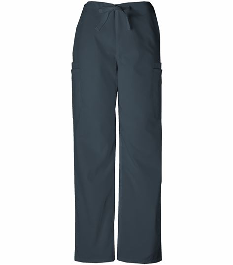 Cherokee WorkWear Men's Drawstring Cargo Scrub Pants-4000