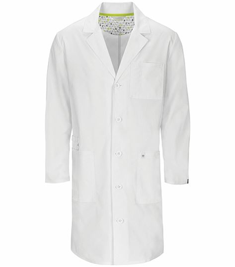 "Code Happy 38"" Unisex Antimicrobial Lab Coat-36400A"