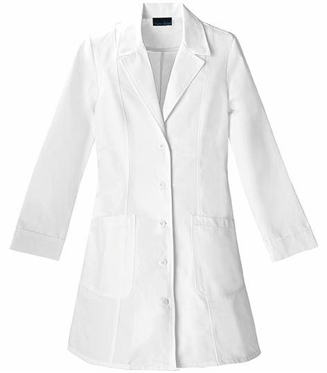 """Cherokee Women's 36"""" White Lab Coat-2410"""