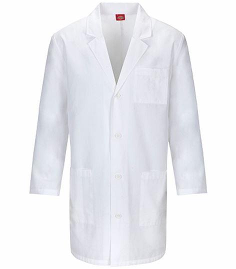 "Dickies EDS Professional Whites 37"" Unisex Lab Coat-83402AB"
