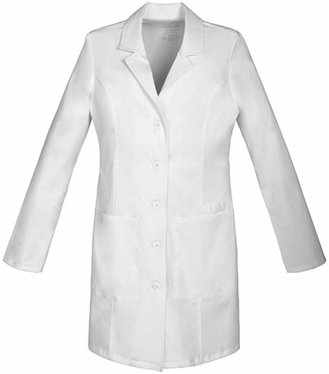 "Cherokee WorkWear Core Stretch Premium Women's 33"" Lab Coat-4439"