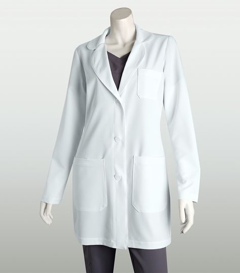 "Grey's Anatomy Signature Women's 32"" 3 Pocket White Lab Coat-2405"