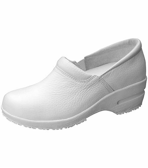 Cherokee Women's Leather Step In Nursing Shoe-PATRICIA
