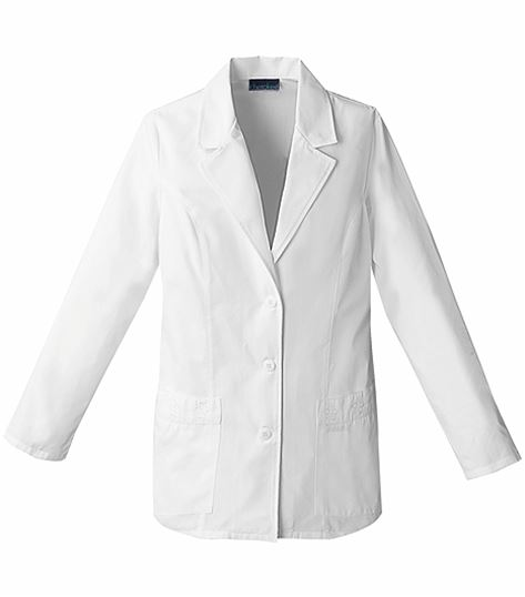 "Cherokee Fashion Women's 29"" White Lab Coat-2390"