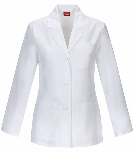 """Dickies Everyday Scrubs 28"""" Lab Coat 84401"""
